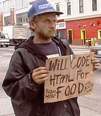 Homeless Coder
